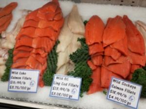 Hmmm, Pacific Ocean fish.