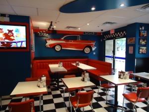Inside the Sunshine Diner